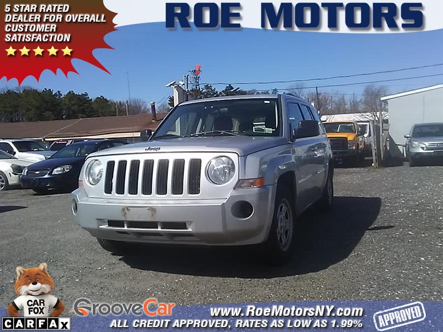 2010 Jeep Patriot 4WD 4dr Sport *Ltd Avail*, available for sale in Shirley, New York | Roe Motors Ltd. Shirley, New York