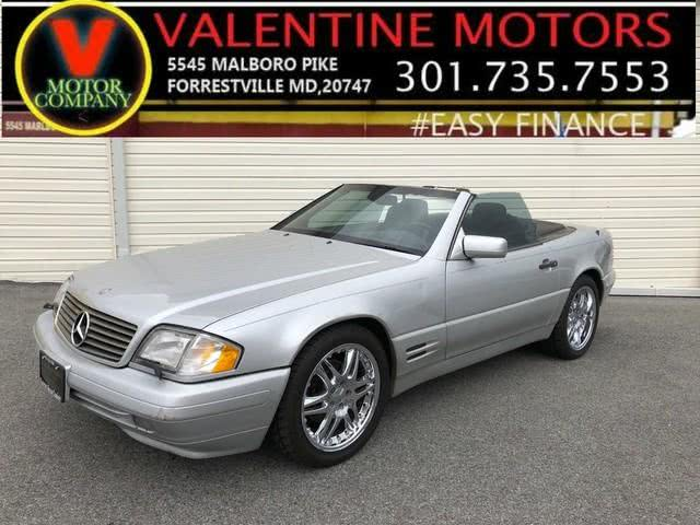 Used 1997 Mercedes-benz Sl-class in Forestville, Maryland | Valentine Motor Company. Forestville, Maryland