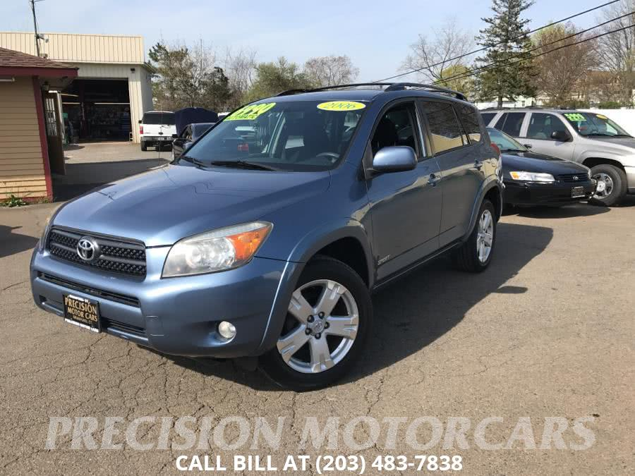Used Toyota RAV4 4dr Sport 4-cyl (Natl) 2006 | Precision Motor Cars LLC. Branford, Connecticut