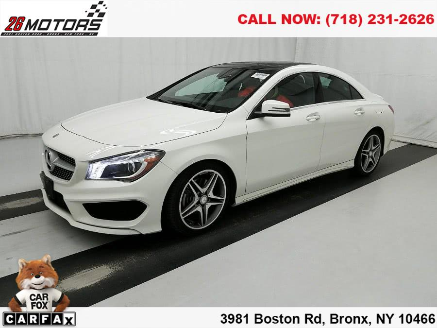 2015 Mercedes-Benz CLA-Class ///AMG 4dr Sdn CLA 250 4MATIC, available for sale in Bronx, New York | 26 Motors Corp. Bronx, New York