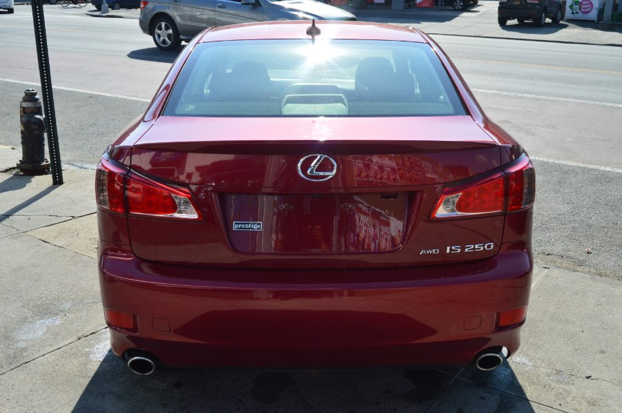 2011 Lexus IS 250 4dr Sport Sdn Auto AWD, available for sale in Bronx, New York | Luxury Auto Group. Bronx, New York