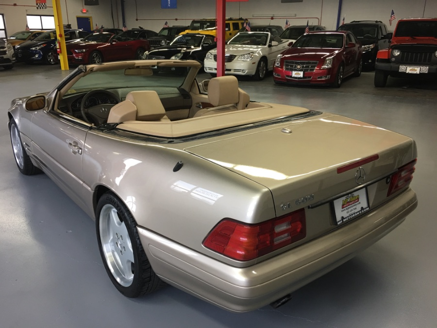 2000 Mercedes-Benz SL-Class 2dr Roadster 5.0L, available for sale in West Babylon , New York | MP Motors Inc. West Babylon , New York