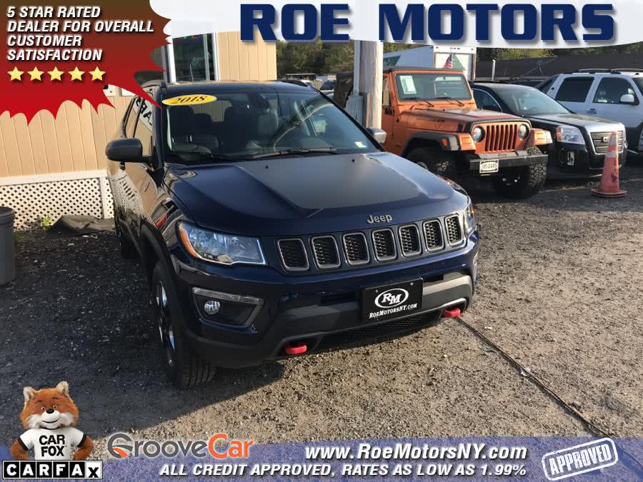2018 Jeep Compass Trailhawk 4x4, available for sale in Shirley, New York   Roe Motors Ltd. Shirley, New York
