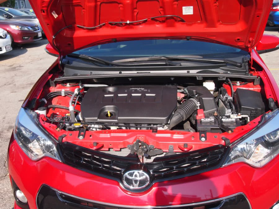 2015 Toyota Corolla 4dr Sdn Man S Plus (Natl), available for sale in Worcester, Massachusetts | Hilario's Auto Sales Inc.. Worcester, Massachusetts