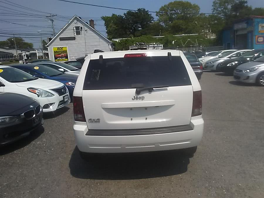 2006 Jeep Grand Cherokee 4dr Laredo 4WD, available for sale in Shirley, New York   Roe Motors Ltd. Shirley, New York