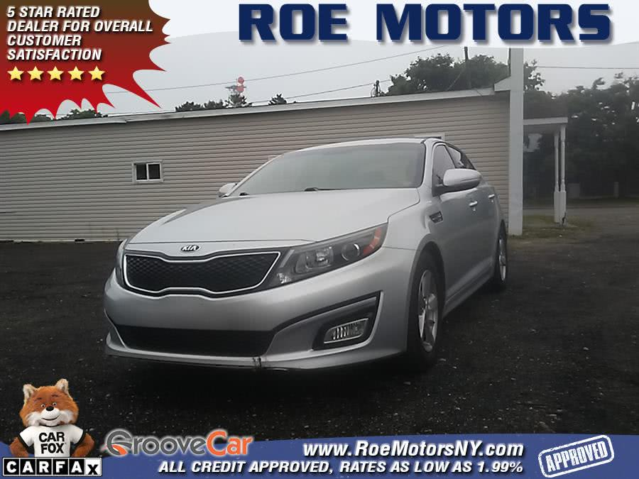 2015 Kia Optima 4dr Sdn LX, available for sale in Shirley, New York | Roe Motors Ltd. Shirley, New York