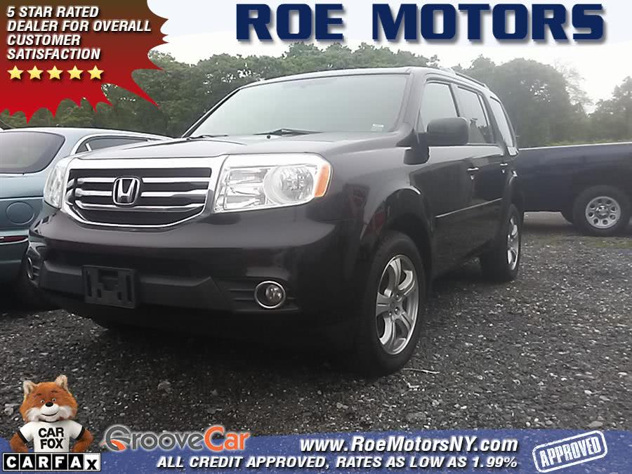 2013 Honda Pilot 4WD 4dr EX-L w/Navi, available for sale in Shirley, NY