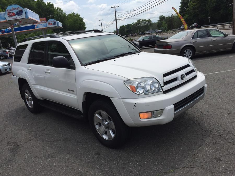 2004 Toyota 4Runner 4dr SR5 V6 Auto 4WD, available for sale in Meriden, Connecticut | Five Star Cars LLC. Meriden, Connecticut