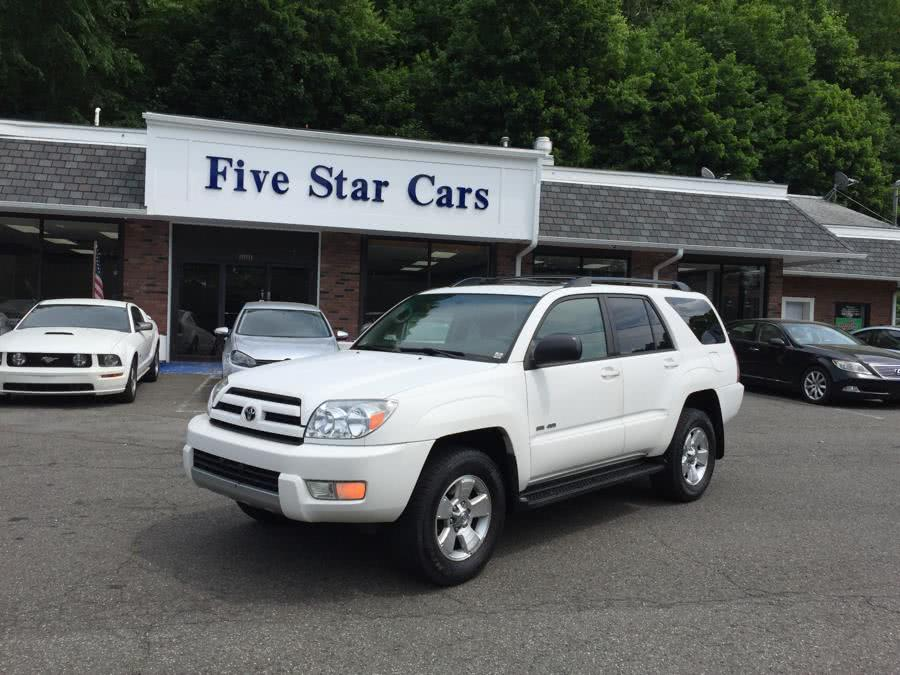 Used 2004 Toyota 4Runner in Meriden, Connecticut | Five Star Cars LLC. Meriden, Connecticut