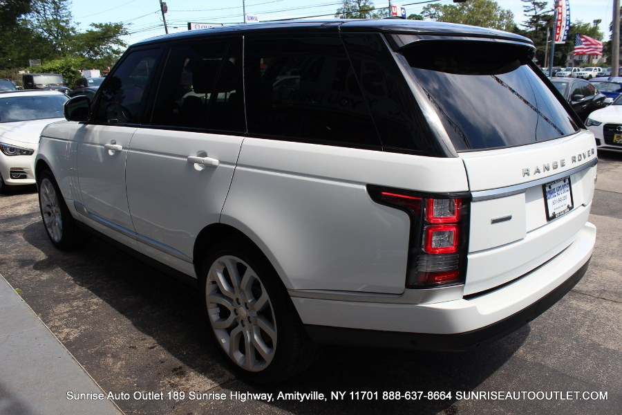 2015 Land Rover Range Rover 4WD 4dr Supercharged, available for sale in Jamaica, New York | Hillside Auto Mall Inc.. Jamaica, New York