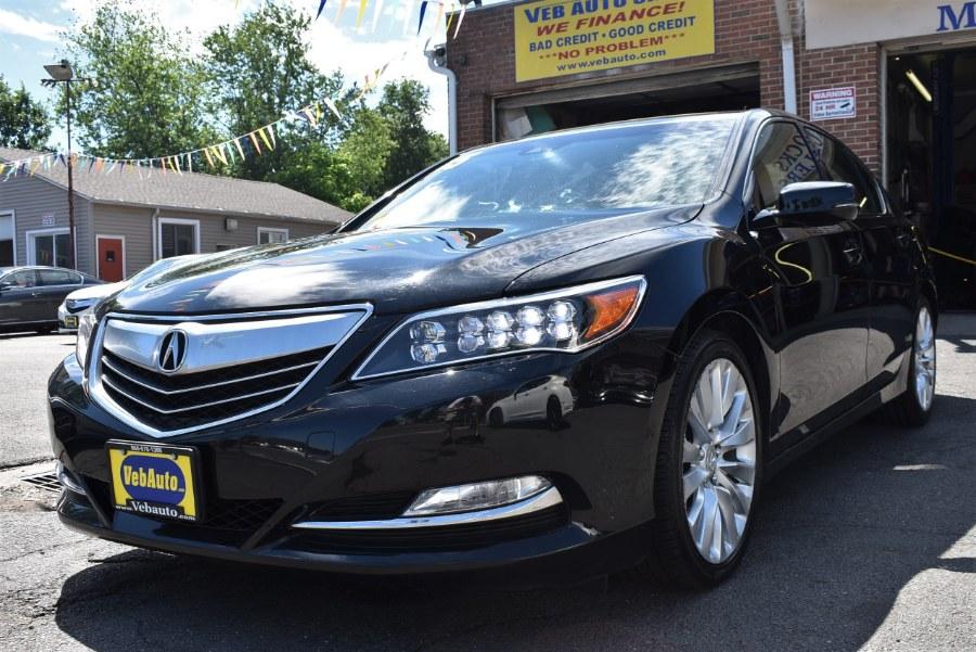 2015 Acura RLX 4dr Sdn Tech Pkg, available for sale in Hartford, Connecticut | VEB Auto Sales. Hartford, Connecticut