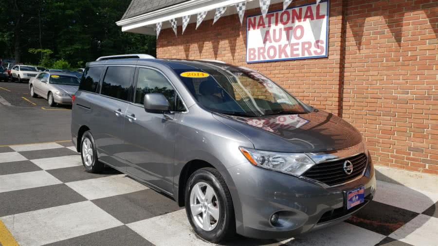 Used 2014 Nissan Quest in Waterbury, Connecticut | National Auto Brokers, Inc.. Waterbury, Connecticut