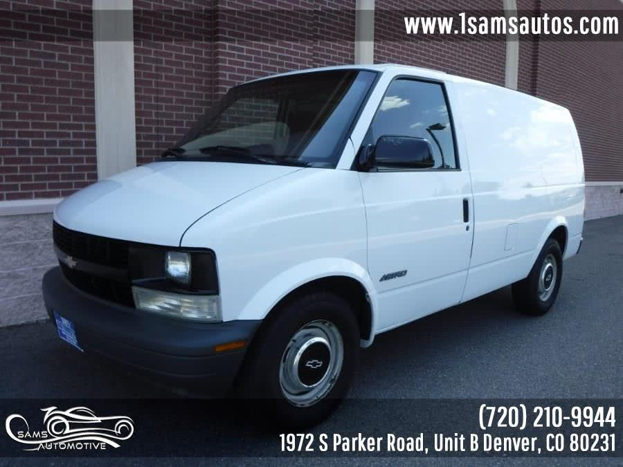 Used 1999 Chevrolet Astro Cargo Van in Denver, Colorado | Sam's Automotive. Denver, Colorado