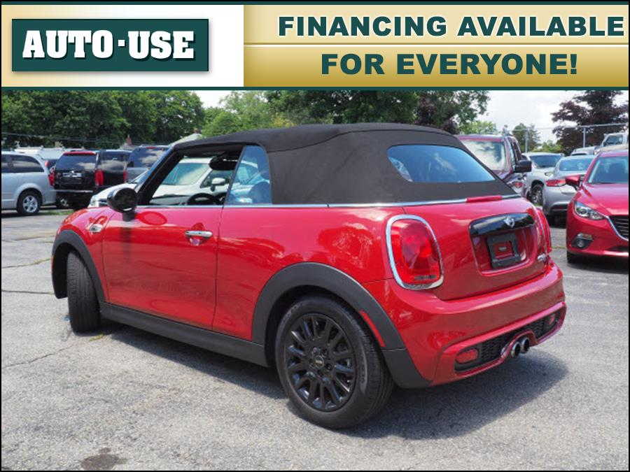 2017 Mini Convertible Cooper S, available for sale in Andover, Massachusetts | Autouse. Andover, Massachusetts