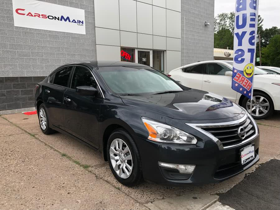 2015 Nissan Altima 4dr Sdn I4 2.5 S, available for sale in Manchester, Connecticut | Carsonmain LLC. Manchester, Connecticut