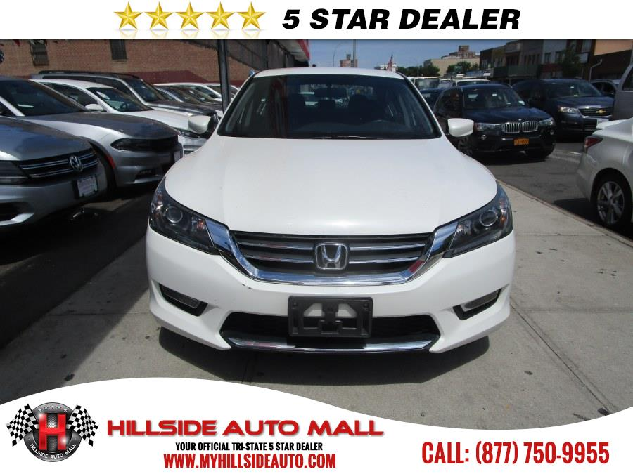 2014 Honda Accord Sedan 4dr I4 CVT Sport PZEV, available for sale in Jamaica, New York | Hillside Auto Mall Inc.. Jamaica, New York