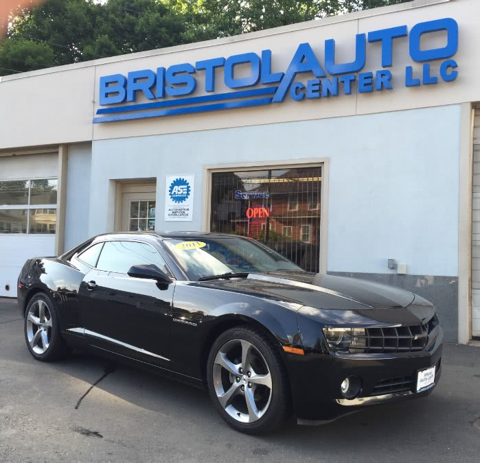 2013 Chevrolet Camaro 2dr Cpe LT w/1LT, available for sale in Bristol, Connecticut | Bristol Auto Center LLC. Bristol, Connecticut