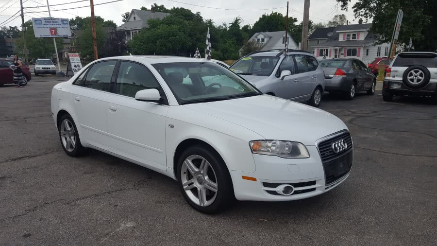 Used 2007 Audi A4 in Worcester, Massachusetts | Rally Motor Sports. Worcester, Massachusetts