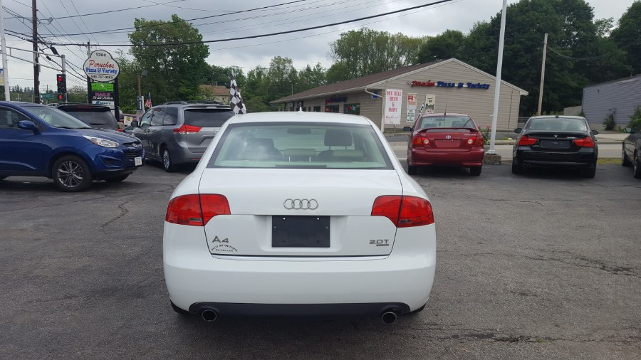 Used Audi A4 2007 4dr Sdn Auto 2.0T quattro 2007 | Rally Motor Sports. Worcester, Massachusetts