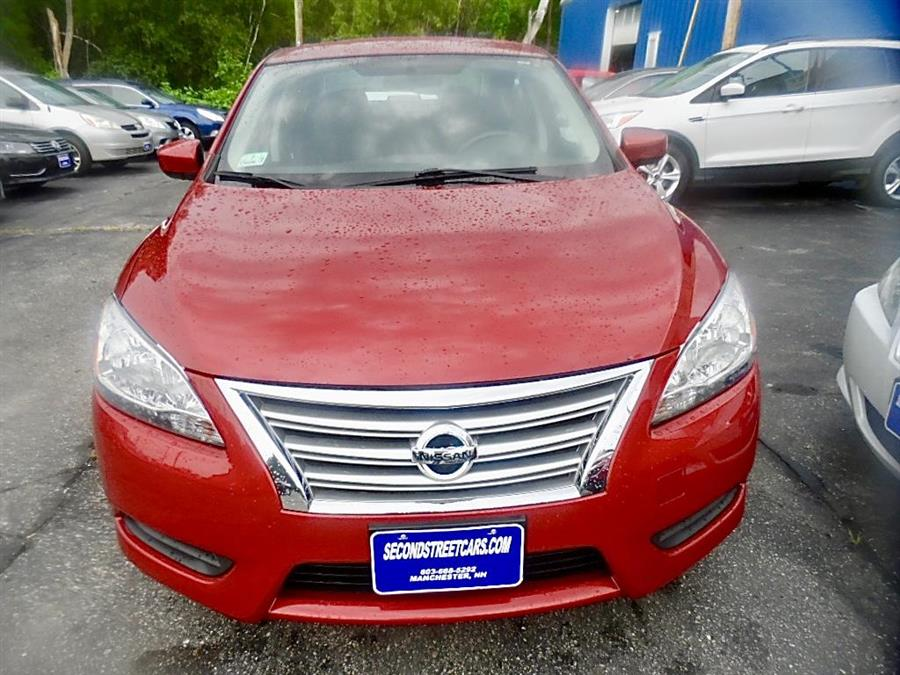 2014 Nissan Sentra S, available for sale in Manchester, New Hampshire   Second Street Auto Sales Inc. Manchester, New Hampshire