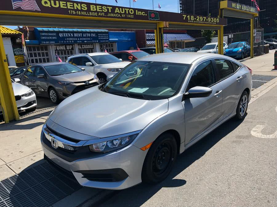 Used 2017 Honda Civic Sedan in Jamaica, New York | Queens Best Auto, Inc.. Jamaica, New York