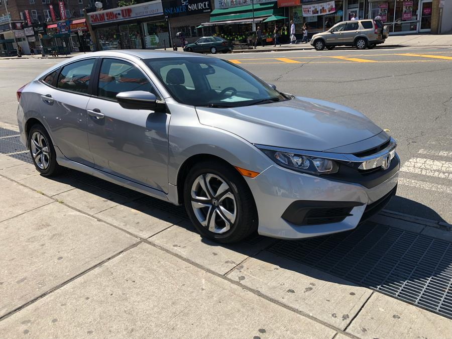 2017 Honda Civic Sedan LX CVT, available for sale in Jamaica, New York | Queens Best Auto, Inc.. Jamaica, New York