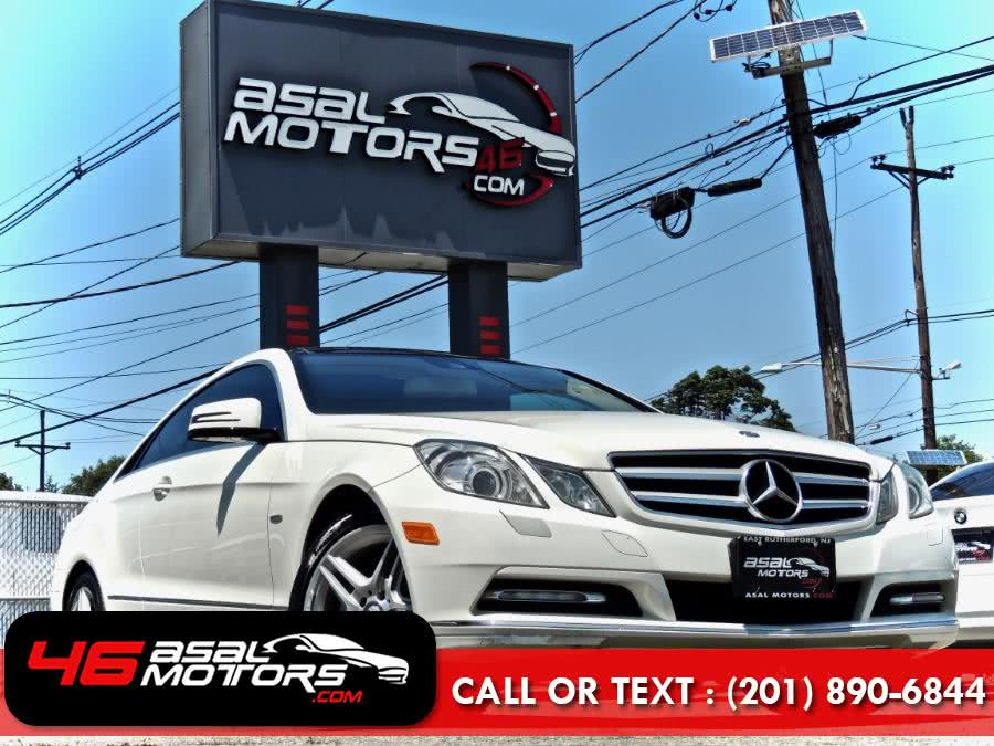 Used Mercedes-Benz E-Class 2dr Cpe E 350 4MATIC 2012 | Asal Motors. East Rutherford, New Jersey