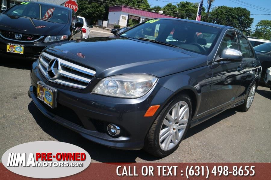 2008 Mercedes-Benz C-Class 4dr Sdn 3.0L Sport 4MATIC, available for sale in Huntington, New York   M & A Motors. Huntington, New York