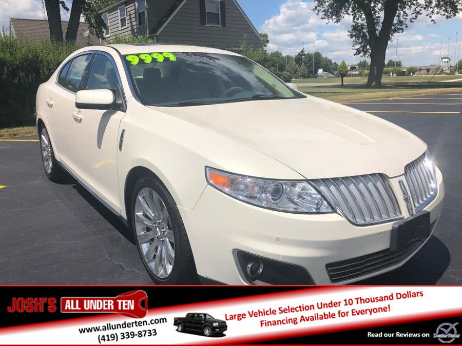 Used Lincoln MKS 4dr Sdn AWD 2009 | Josh's All Under Ten LLC. Elida, Ohio