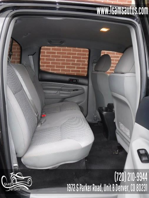 2013 Toyota Tacoma 2WD Double Cab I4 AT PreRunner (Natl), available for sale in Denver, Colorado | Sam's Automotive. Denver, Colorado