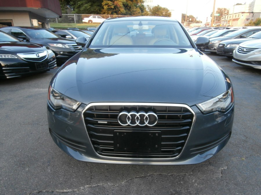 2013 Audi A6 4dr Sdn quattro 2.0T Premium Plus, available for sale in Waterbury, Connecticut | Jim Juliani Motors. Waterbury, Connecticut