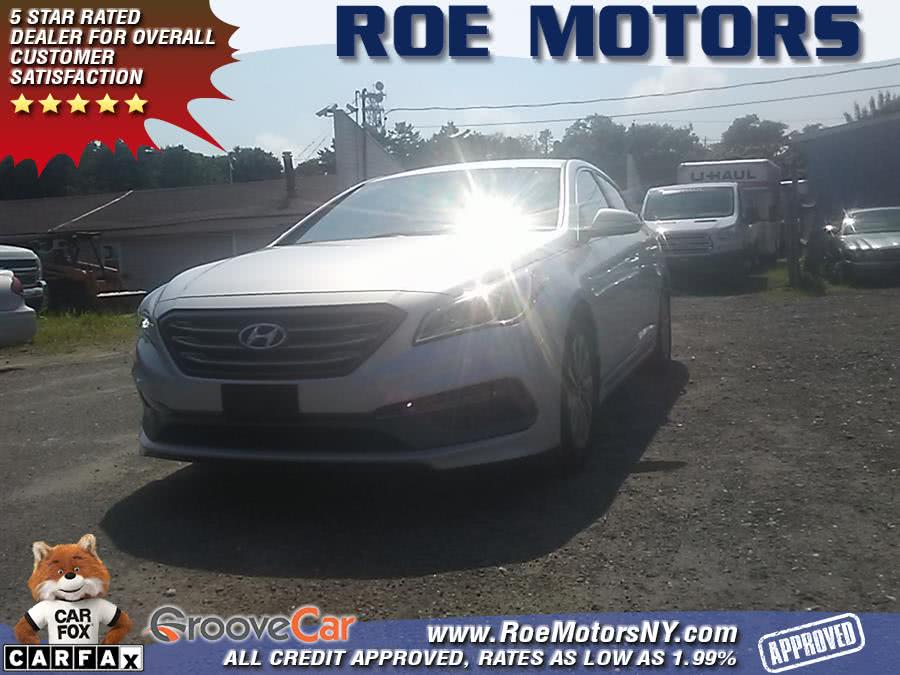 2015 Hyundai Sonata 4dr Sdn 2.4L Sport, available for sale in Shirley, New York | Roe Motors Ltd. Shirley, New York