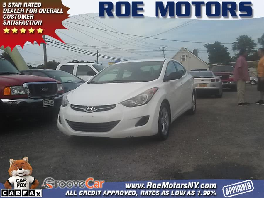 2013 Hyundai Elantra 4dr Sdn Auto GLS, available for sale in Shirley, New York | Roe Motors Ltd. Shirley, New York