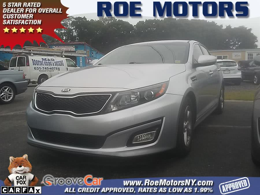 2016 Kia Optima 4dr Sdn LX, available for sale in Shirley, New York | Roe Motors Ltd. Shirley, New York