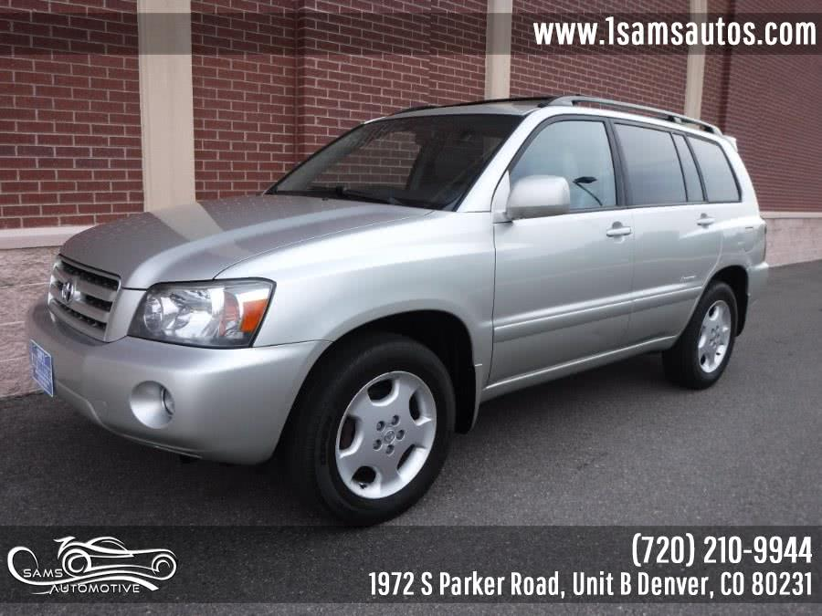 Used 2006 Toyota Highlander in Denver, Colorado | Sam's Automotive. Denver, Colorado