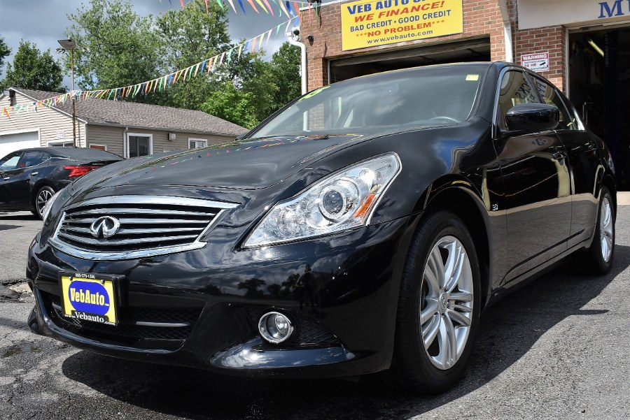 2015 INFINITI Q40 4dr Sdn AWD, available for sale in Hartford, Connecticut | VEB Auto Sales. Hartford, Connecticut