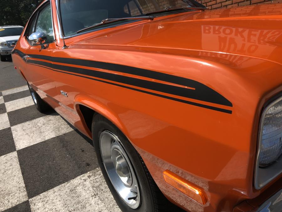 1973 Plymouth Duster Coupe, available for sale in Waterbury, Connecticut | National Auto Brokers, Inc.. Waterbury, Connecticut
