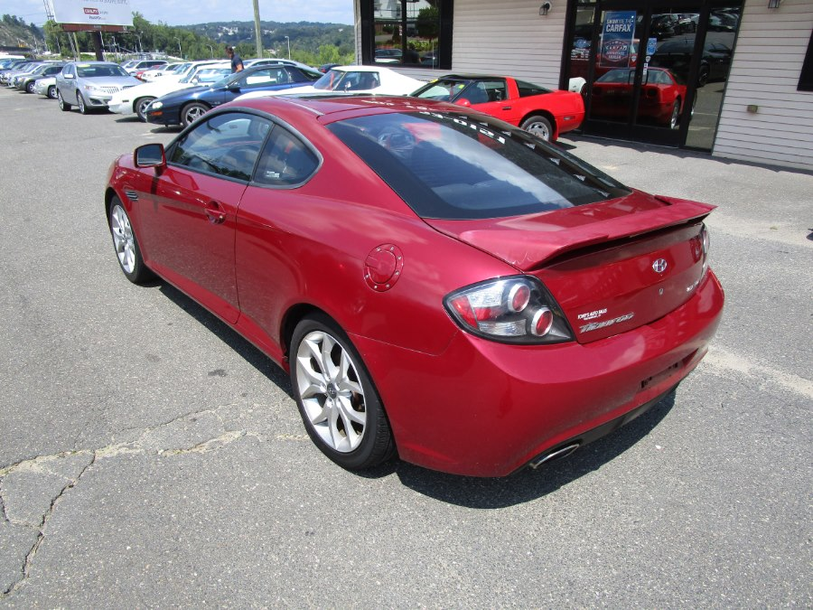 2007 Hyundai Tiburon 2dr Cpe V6 Manual GT, available for sale in Waterbury, Connecticut | Tony's Auto Sales. Waterbury, Connecticut