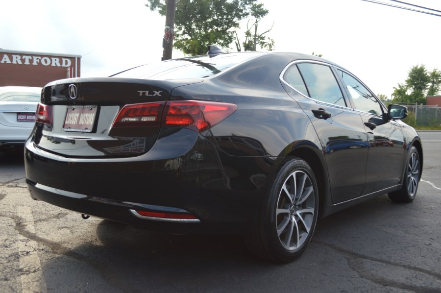 2015 Acura TLX 4dr Sdn FWD V6, available for sale in Hartford, Connecticut   Locust Motors LLC. Hartford, Connecticut