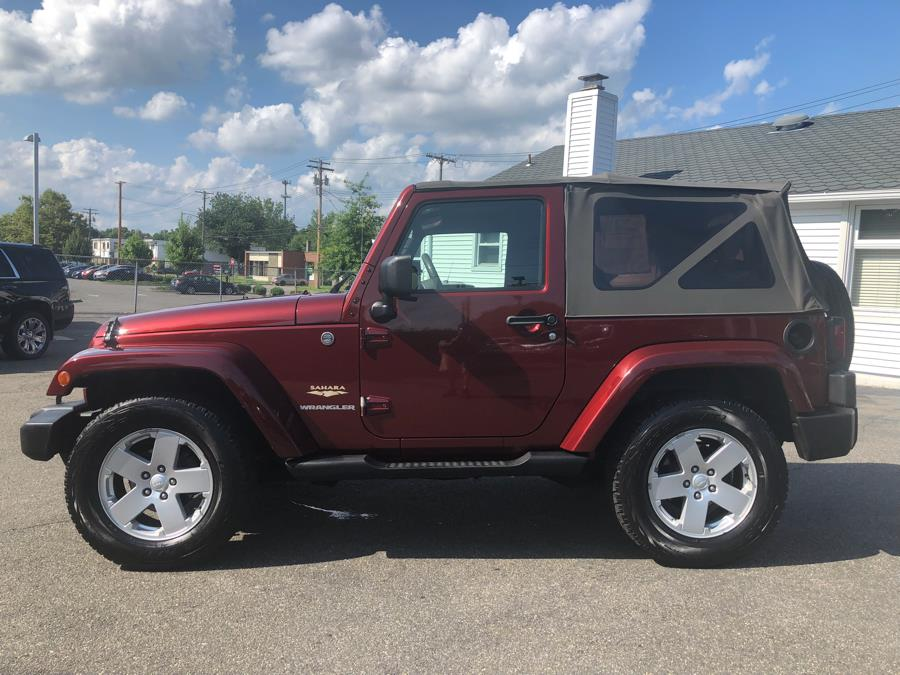2007 Jeep Wrangler 4WD 2dr Sahara, available for sale in Milford, Connecticut | Chip's Auto Sales Inc. Milford, Connecticut