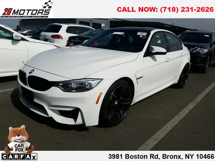 2015 BMW M3 4dr Sdn, available for sale in Bronx, New York | 26 Motors Corp. Bronx, New York