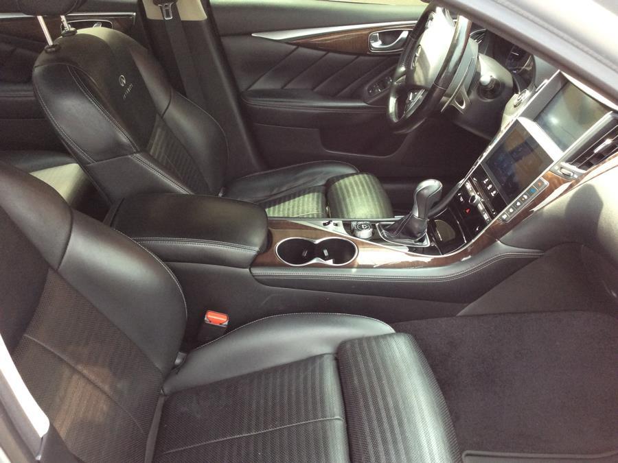2014 INFINITI Q50 4dr Sdn Hybrid Sport AWD, available for sale in Plainville, Connecticut | Farmington Auto Park LLC. Plainville, Connecticut