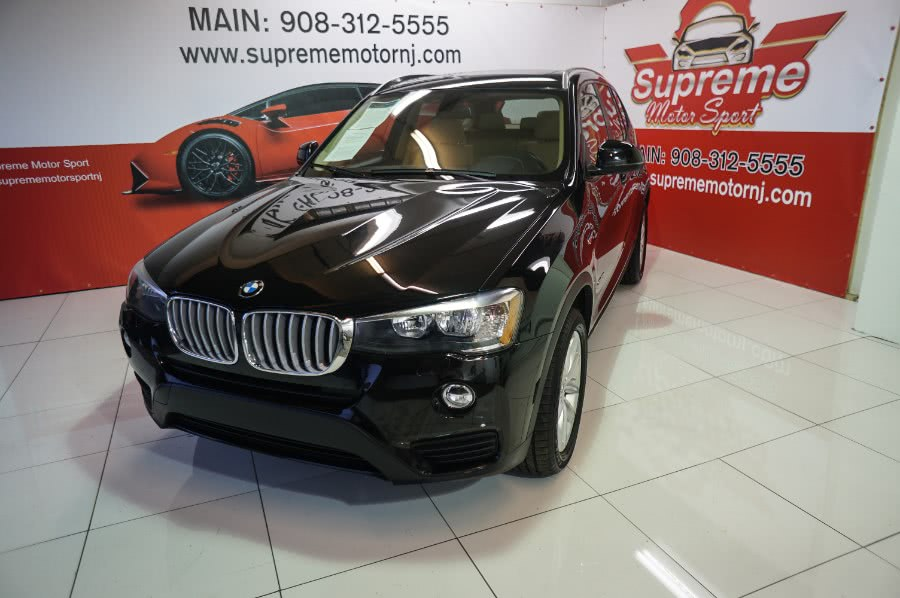 Used BMW X3 sDrive28i Sports Activity Vehicle 2017 | Supreme Motor Sport. Elizabeth, New Jersey
