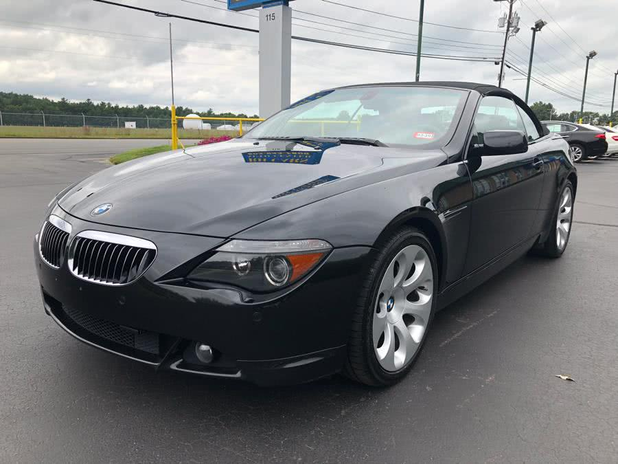 Used 2007 BMW 6 Series in Merrimack, New Hampshire | RH Cars LLC. Merrimack, New Hampshire