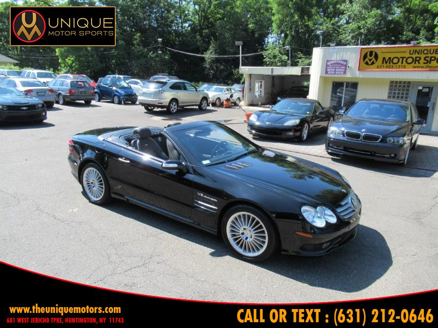 2004 Mercedes-Benz SL-Class 2dr Roadster 5.5L AMG, available for sale in Huntington, New York | Unique Motor Sports. Huntington, New York