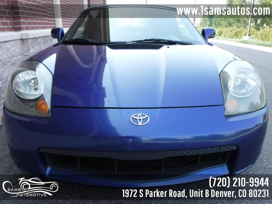 2002 Toyota MR2 Spyder 2dr Conv Manual SEQ (SE), available for sale in Denver, Colorado | Sam's Automotive. Denver, Colorado
