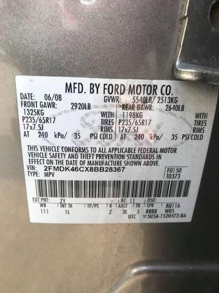 2008 Ford Edge SE AWD 4dr Crossover, available for sale in Framingham, Massachusetts | Mass Auto Exchange. Framingham, Massachusetts