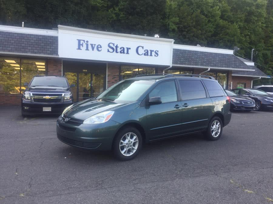 Used 2004 Toyota Sienna in Meriden, Connecticut | Five Star Cars LLC. Meriden, Connecticut
