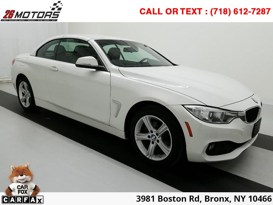 2015 BMW 4 Series Convertible 2dr Conv 428i xDrive AWD SULEV, available for sale in Bronx, New York | 26 Motors Corp. Bronx, New York