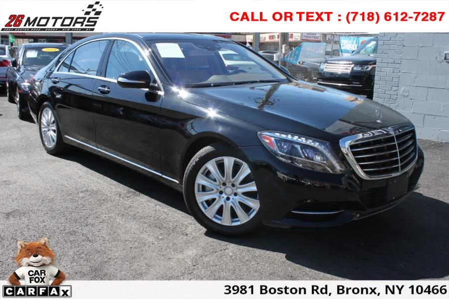 2014 Mercedes-Benz S-Class 4dr Sdn S550 4MATIC, available for sale in Bronx, New York | 26 Motors Corp. Bronx, New York
